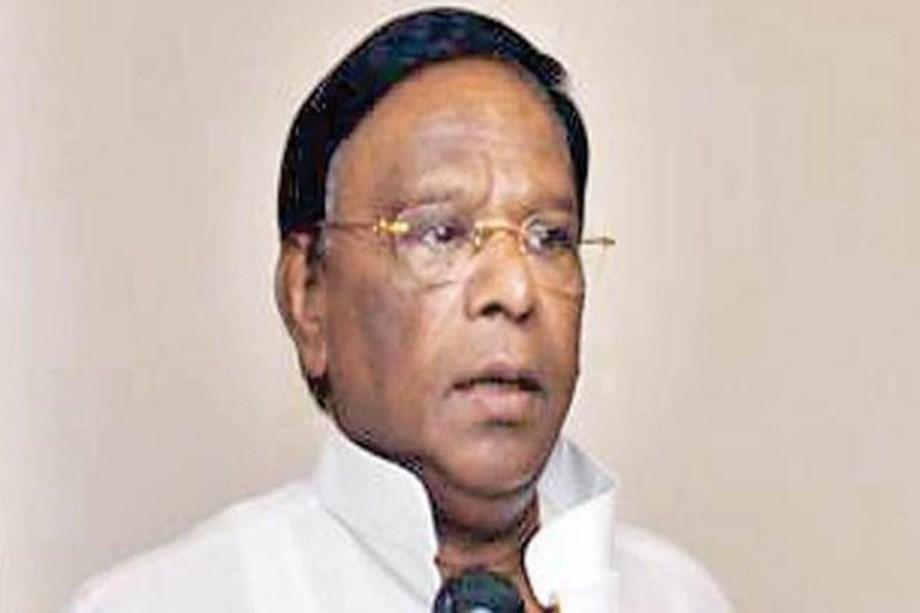 CM Narayanasamy protest in Delhi demands statehood to Puducherry, Kiran Bedi removal