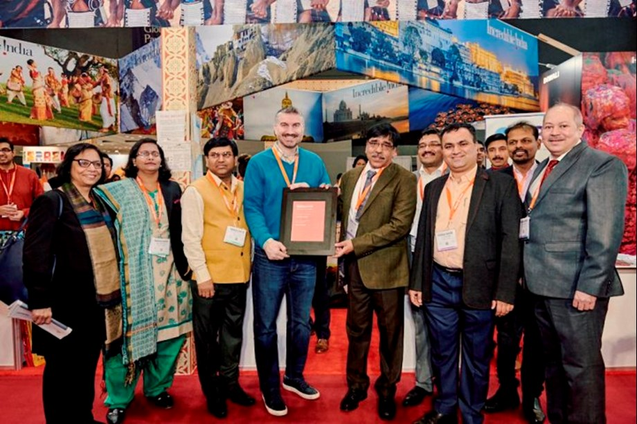 India receives Award of Excellence forBest in Show at NY Times Travel Show 2019
