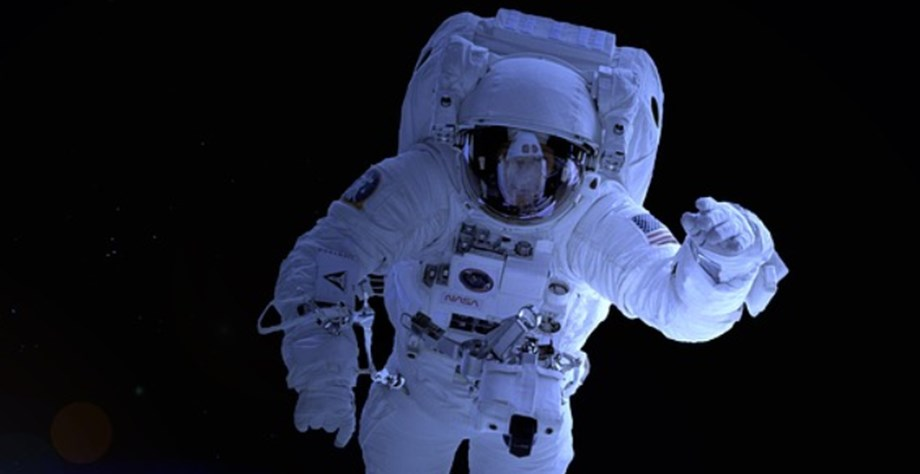 Astronauts replacing old batteries in 1st of 5 spacewalks