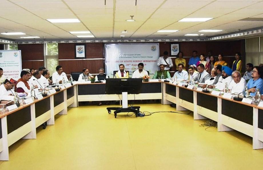 Prakash Javadekar hands over CAMPA funds during State Forest Ministers' meeting