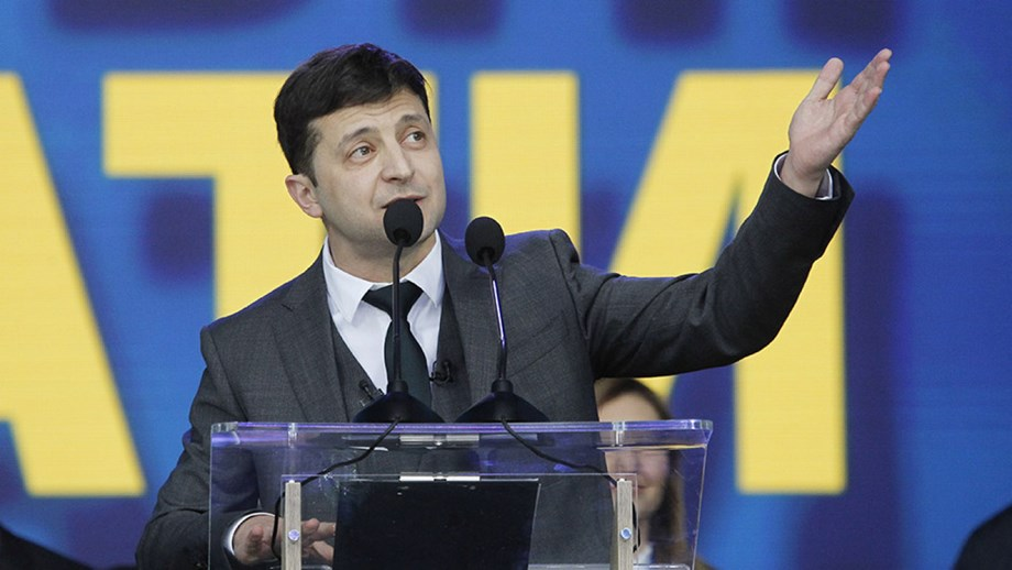 Let's move on from impeachment, visiting U.S. Senators tell Ukraine's leader