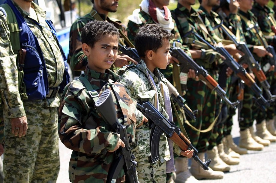 Yemen's child soldiers: Taken from school and returned in coffins