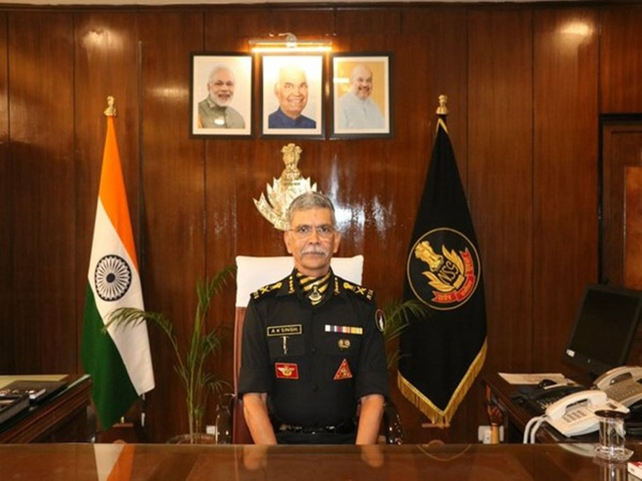 Anup Kumar Singh takes charge as new DG of National Security Guard