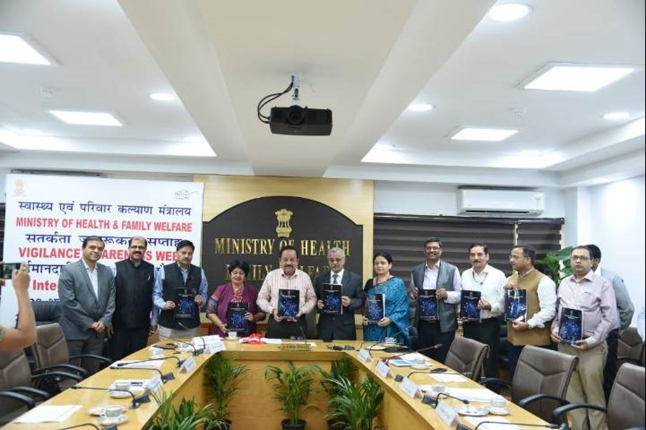 NDHB Committee Chairman submits final report to Dr. Harsh Vardhan