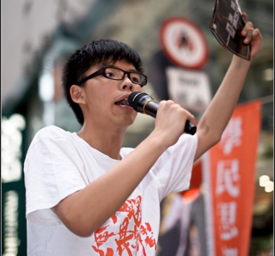 Hong Kong activist seeks U.S. support for pro-democracy protests