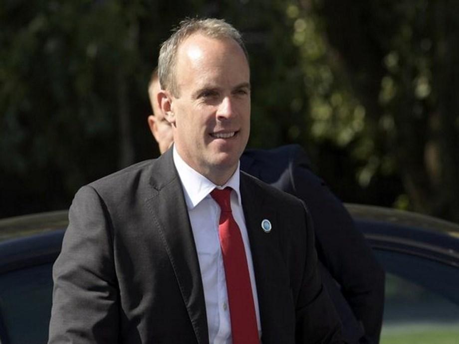 UK's Raab to meet Pompeo in Washington on Thursday