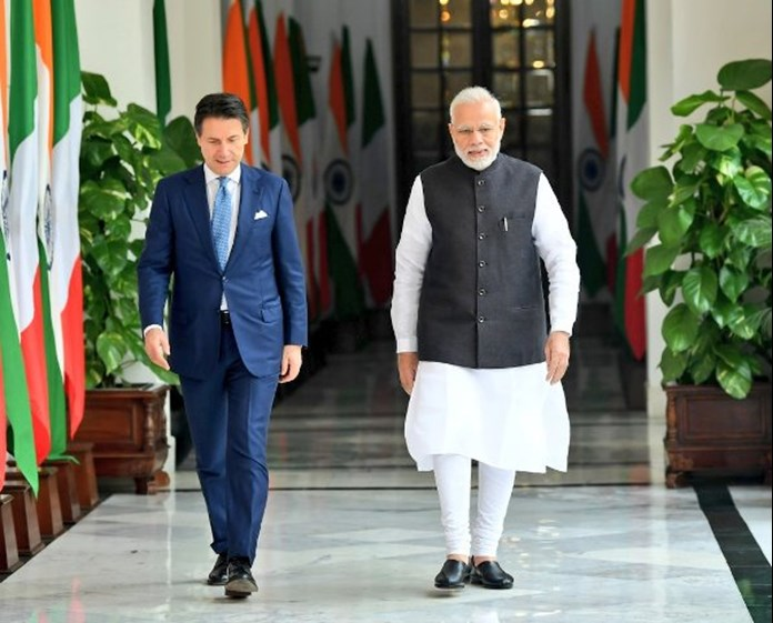 India, Italy reassure commitment in fight against terrorism