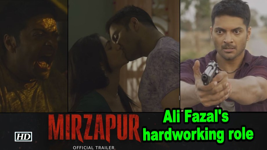 'Mirzapur' actress sees lot of potential for web series in India