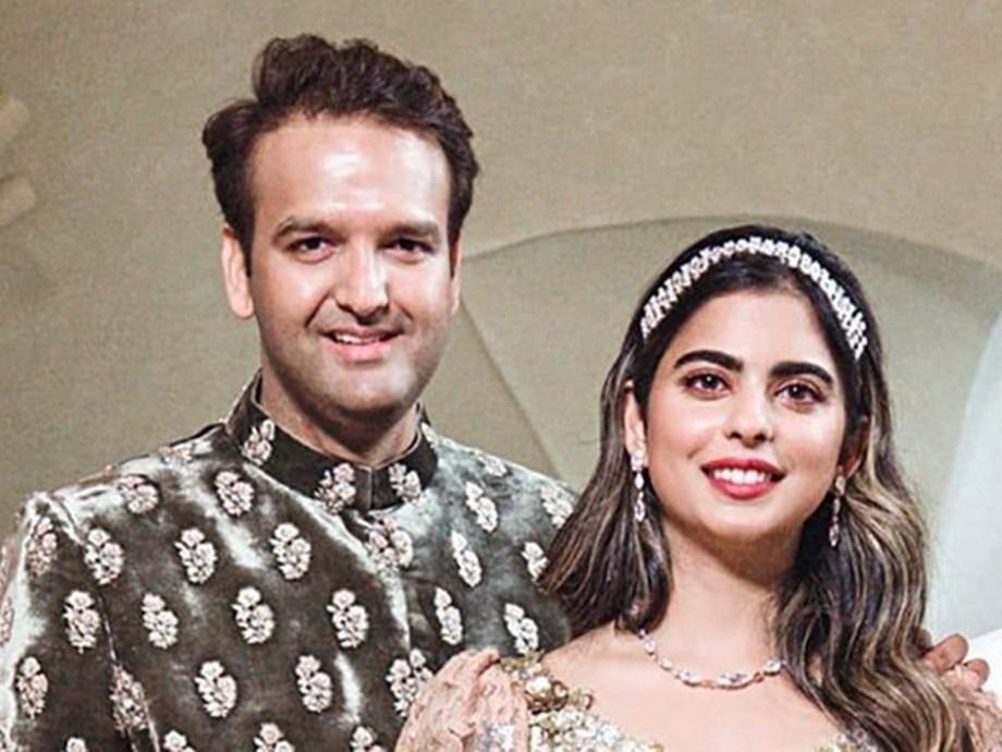 Isha Ambani to marry Anand Piramal on December 12 in Mumbai