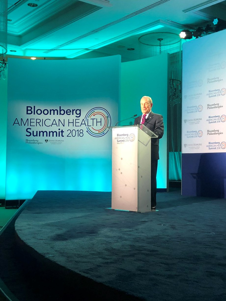 Bloomberg pledges USD 50 mn to tackle opioid epidemic amid reports of presidential bid