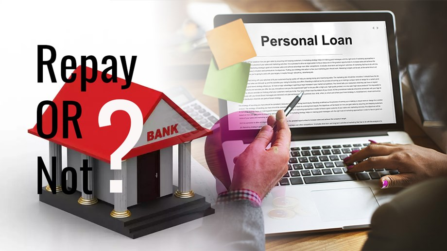 What happens to your outstanding loans if the bank falls?