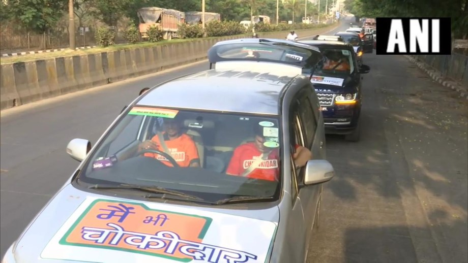 Modi's 'Main Bhi Chowkidar' campaign becomes a hit in Delhi