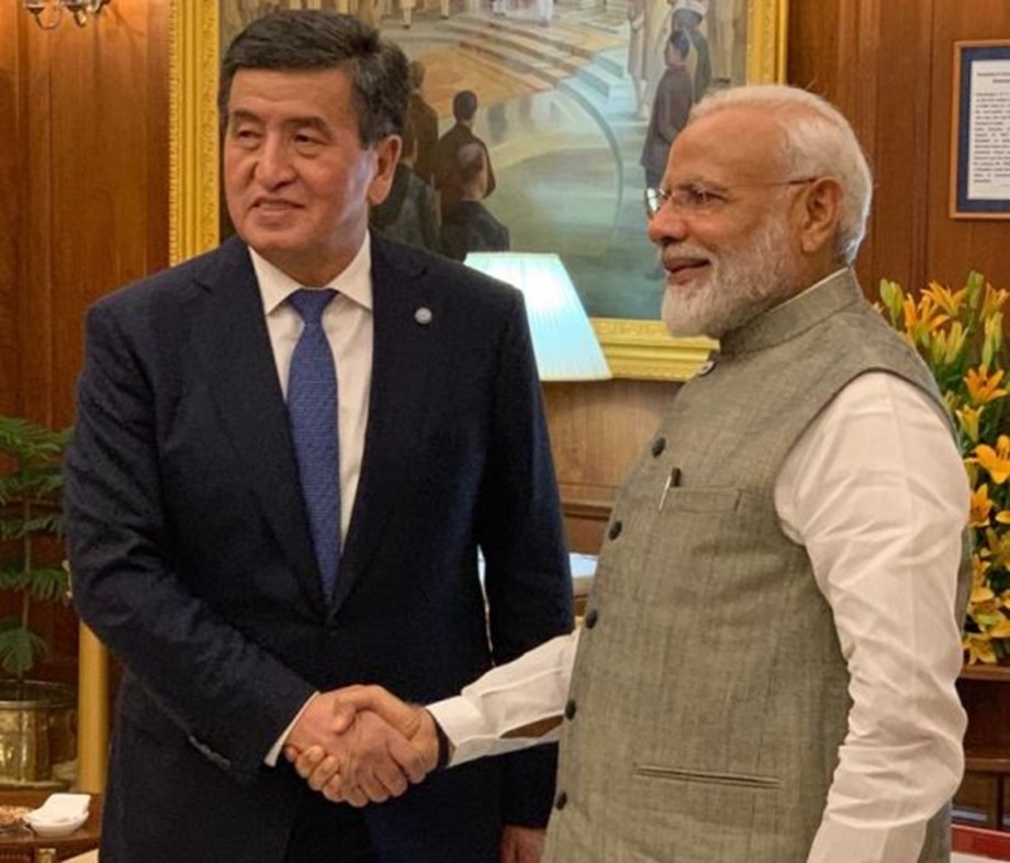 Kyrgyz President hosts lavish dinner for SCO leaders, special veg meal for PM Modi