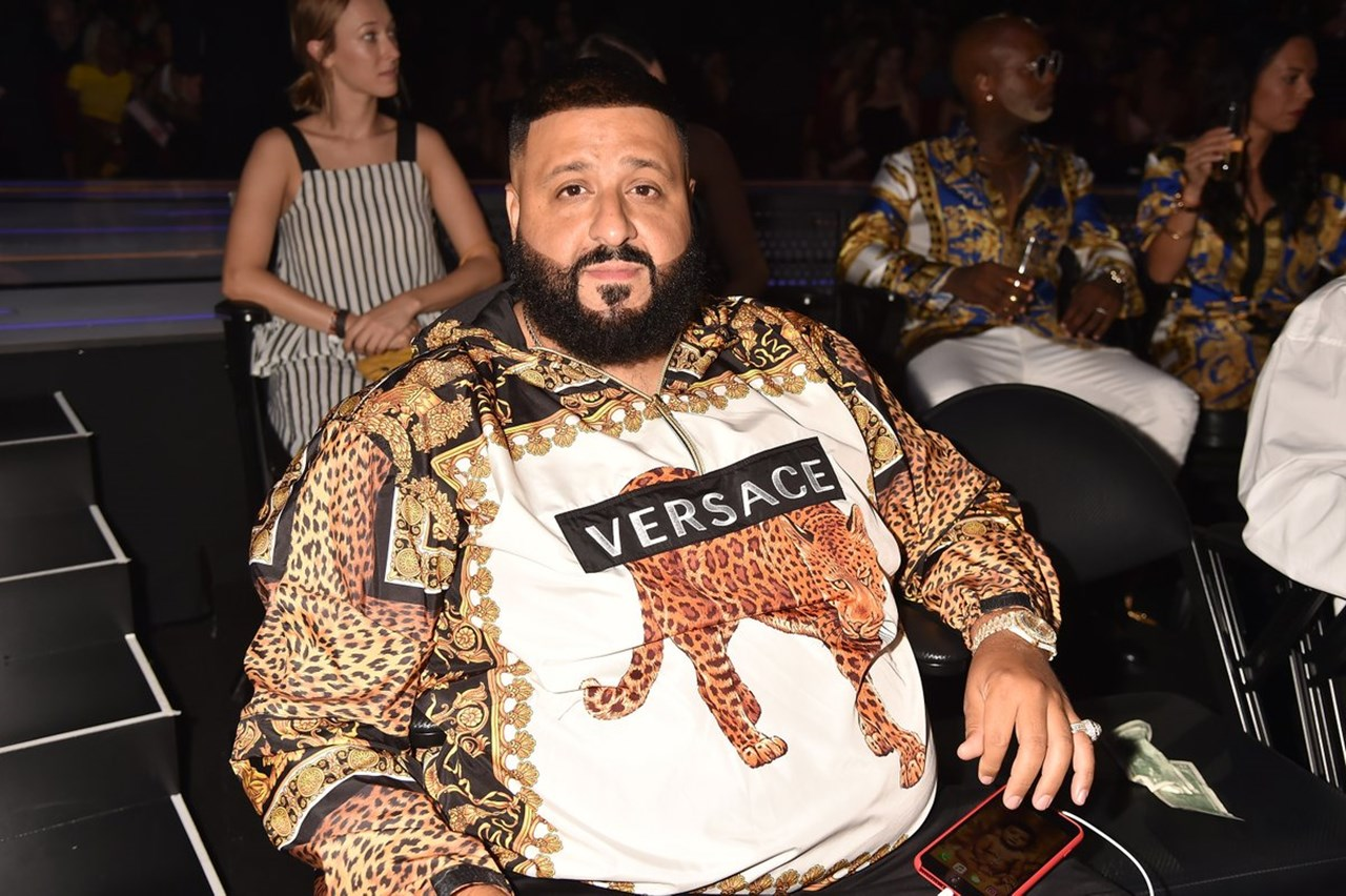DJ Khaled jumps into ocean to save friend