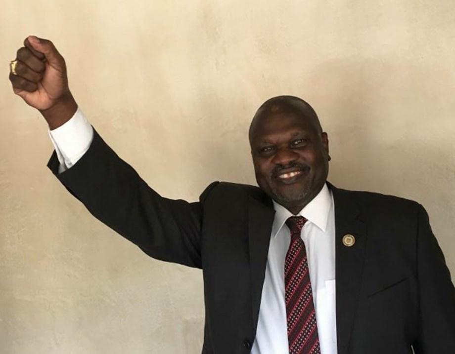 S. Sudan rebel leader Riek Machar arrives in Juba, first time since 2016