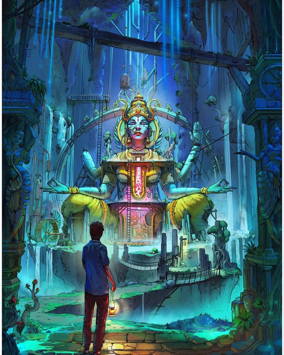 'Antariksha Sanchar' a tale of aeroplane flights and 'irrational world of dreams'