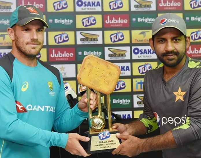 Pakistan opens inquiry into biscuit-shaped trophy fiasco