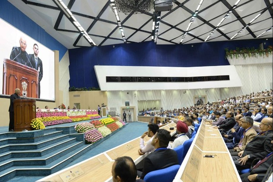 Eradicating corruption foremost condition for creating new India: President Kovind