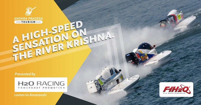 F1H2O World Championship to take place on banks of Krishna river in Amaravati