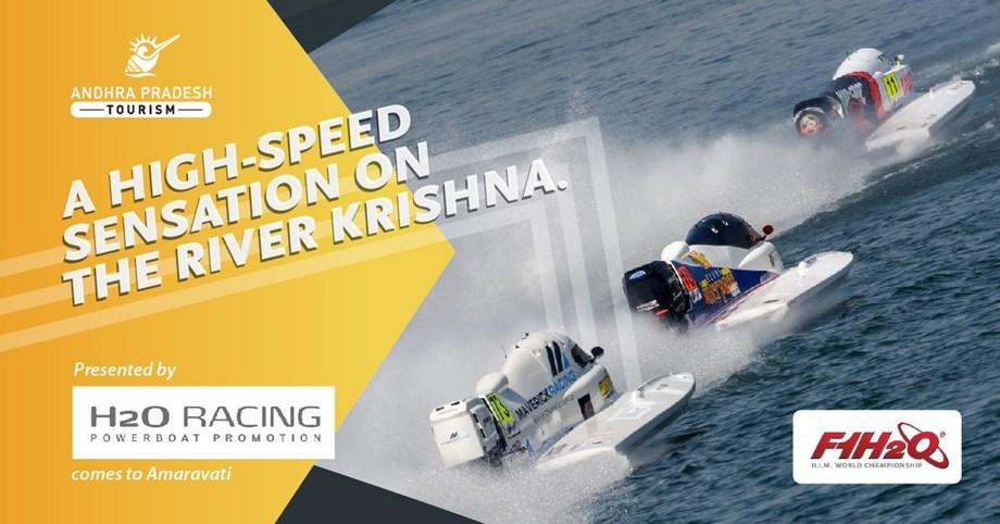 F1H2O World Championship to take place on banks of Krishna river in Amaravati