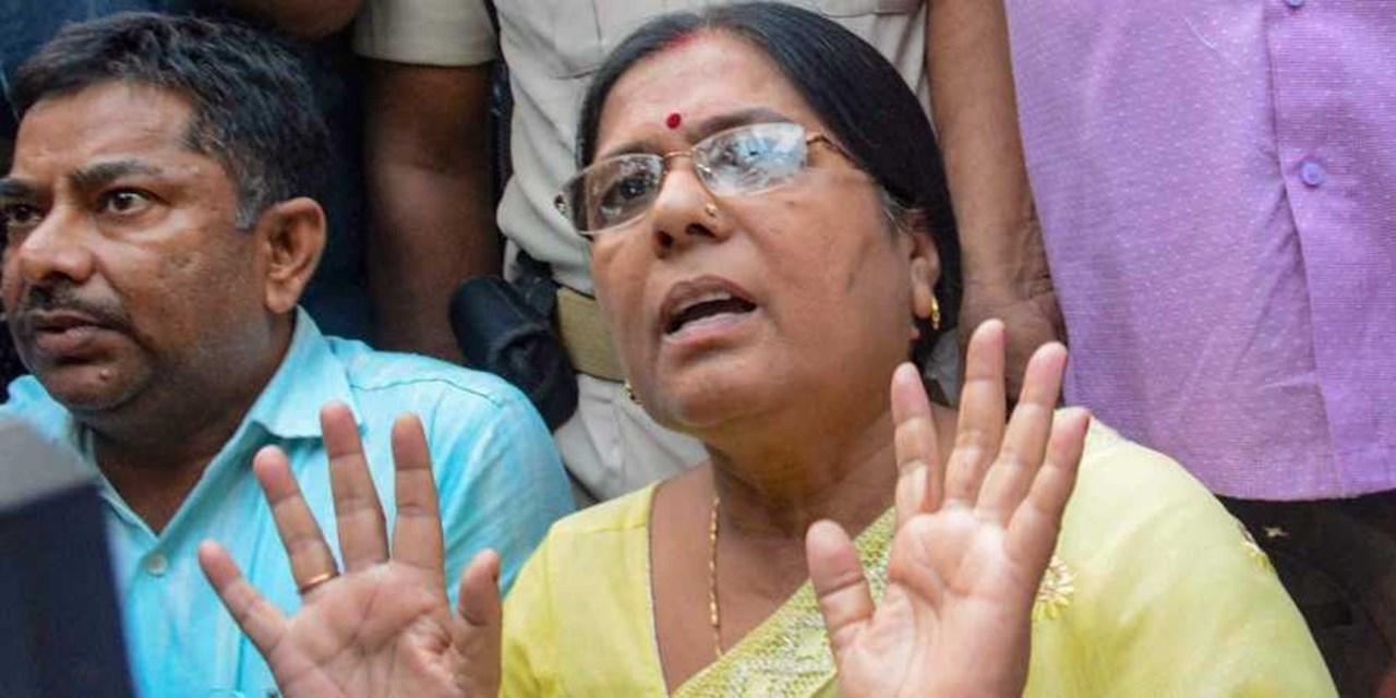 Court issues arrest warrant against former Bihar minister Manju Verma