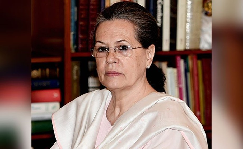 Sonia blames BJP of undermining Nehru's legacy, calls Indian to protect democracy