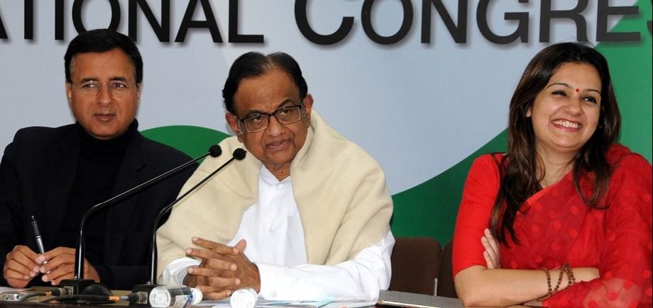 Rajasthan Governor, NITI Aayog vice chairman must resign - Chidambaram.