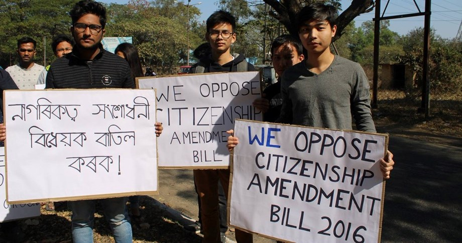 Police slap sedition charges on protestors gathered against Citizenship bill in Tripura