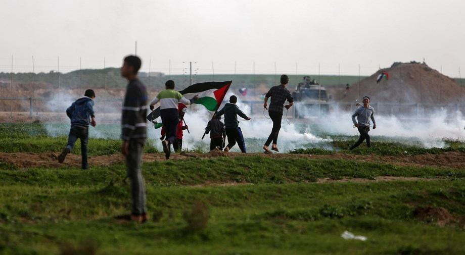 30 injured due to massive fire at Gaza border during 71st Nakba Day protests