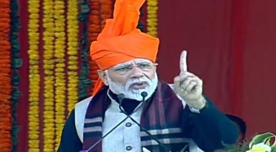 People can't connect to each other till caste discrimination exists - Modi