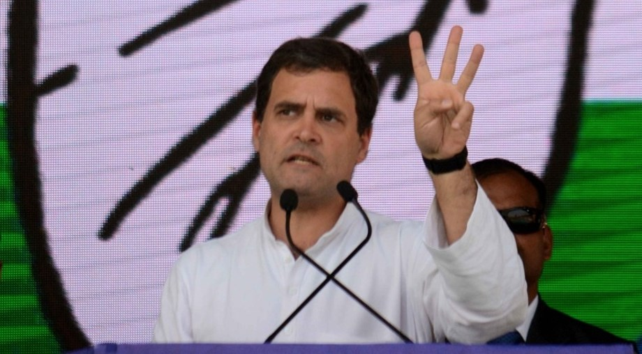 Rahul Gandhi mocks Modi for 'posing' as country mourned Pulwama attack