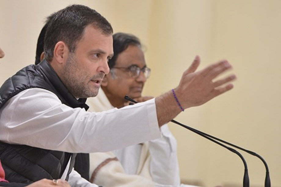 Rahul cites media reports to claim PM's defence on Rafale deal 'demolished'