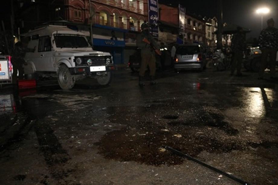 Three injured in grenade attack near Srinagar's Lal Chowk