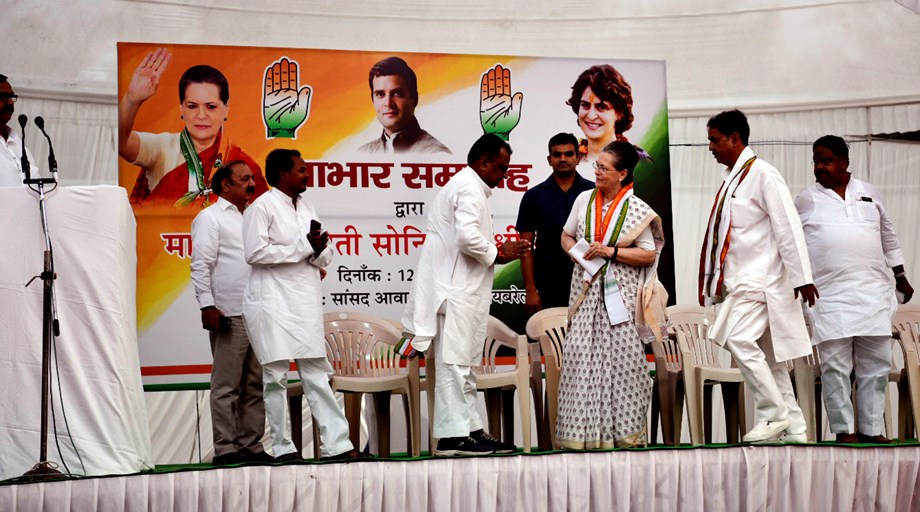 After Rahul, Sonia slams BJP for 'crossing limits of dignity'