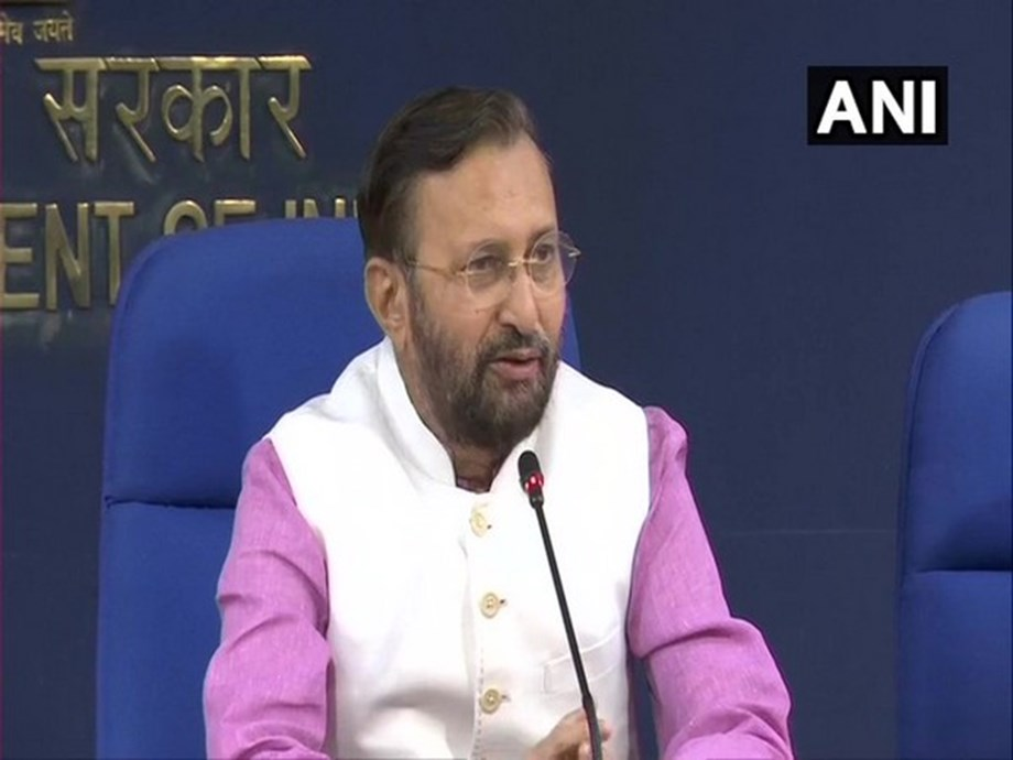 Union Minister Prakash Javadekar offers prayers at Tirumala