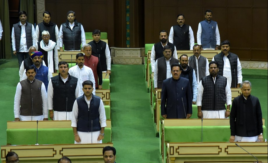Rajasthan assembly tables bill to give 5 pct quota to Gujjars, 4 other communities