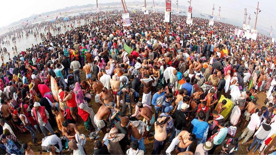 Over 1.81 crore devotees take holy dip at Kumbh on 'Mauni Amavasya'