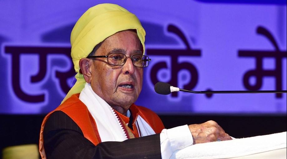 Former president Pranab Mukherjee to inaugurate Kolkata Lit festival on Feb 7