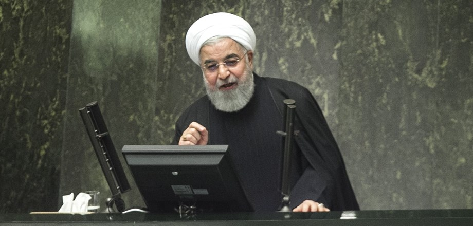 Iran's Rouhani says Middle East situation calls for closer ties with Russia -RIA