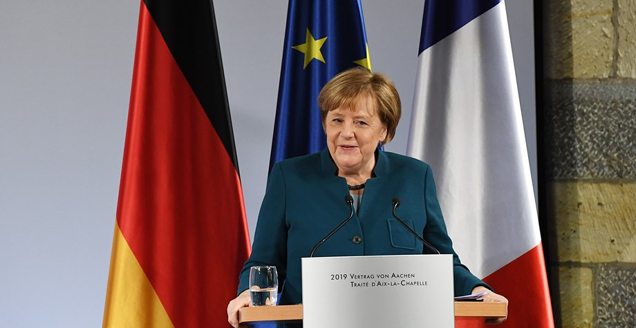 Merkel's health is a private matter, Germans say after shaking bouts