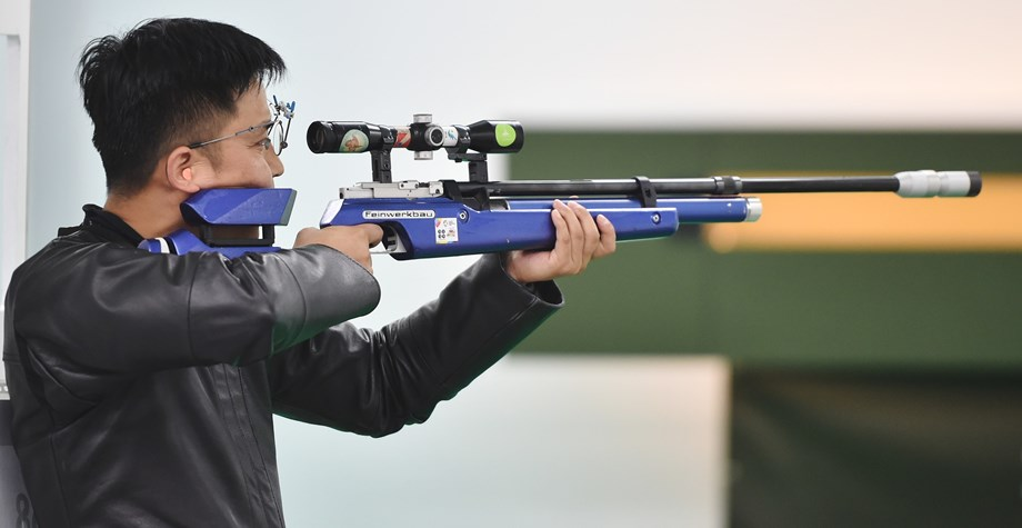 Olympian Kynan Chenai scorers 49 out of 50 at ISSF
