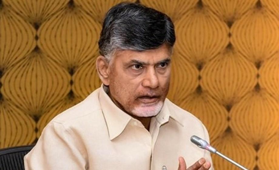 Andhra CM Naidu lays foundation stone for developmental projects in Amaravati