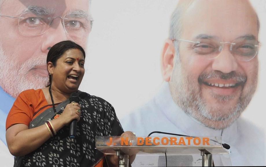 Smriti Irani lauds SC decision paving way for Kolkata police chief probe