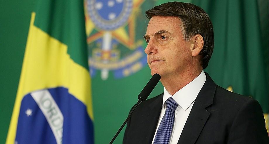 POLITICS-Brazil's Bolsonaro says nominating son as ambassador to U.S. is not nepotism