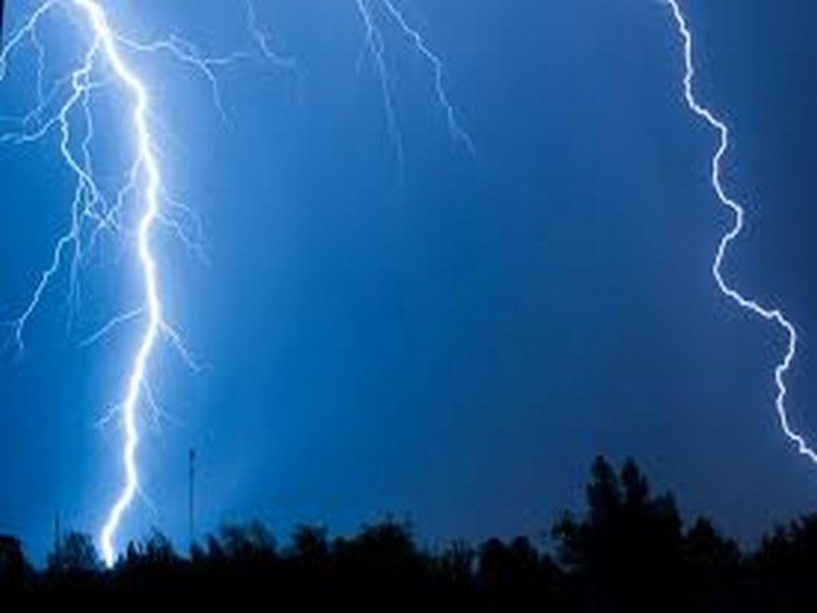 Lightning strike damages electronic devices in 30 houses in Hry village