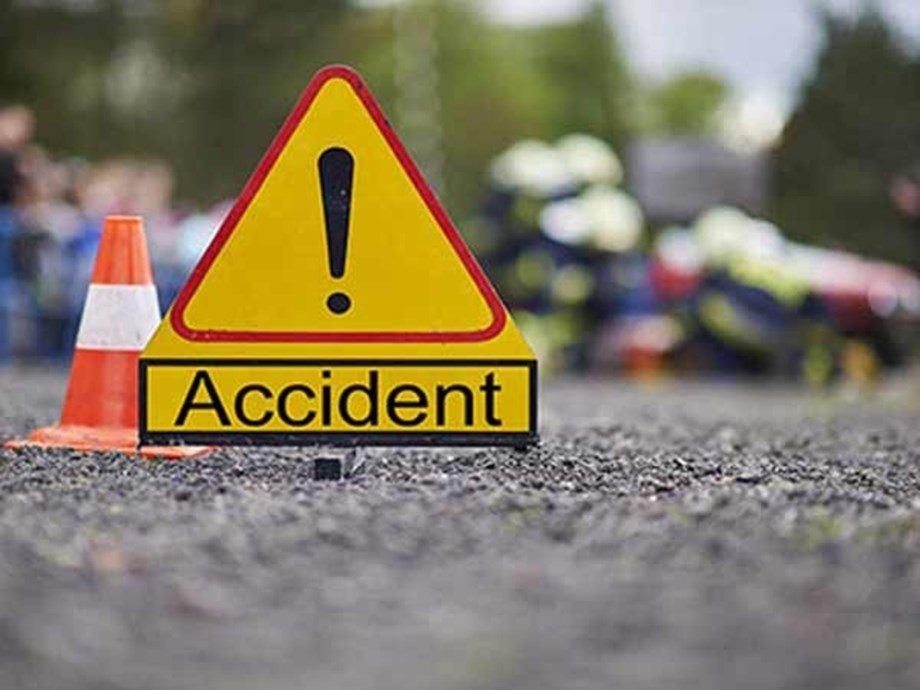 Bus overturns after colliding with truck in Hyderabad