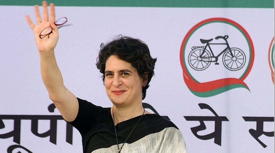 Modi govt is 'magroor' not 'mazboot', says Priyanka