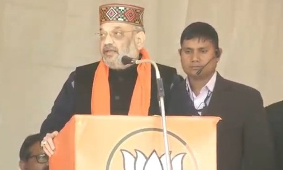Amit Shah steps up attack on BJD, Congress during Odisha visit