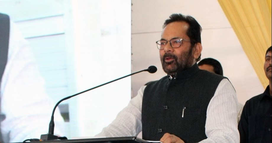 Naqvi slams Cong for raising doubts over EVMs