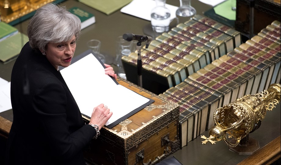Conservative mounts pressure on May to clear her departure timetable